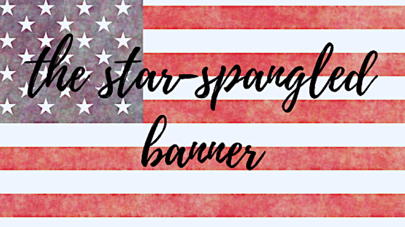 Le drapeau : Stars and Stripes